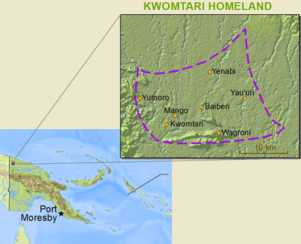 Kwomtari, Maragin in Papua New Guinea