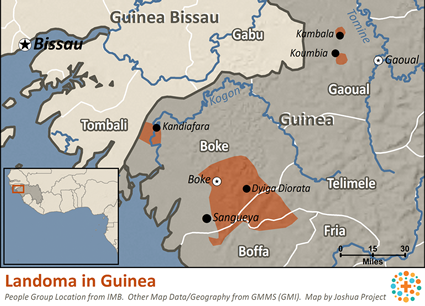 Landoma in Guinea
