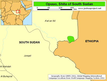 Opuuo, Shita in South Sudan