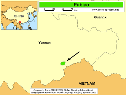 Qabiao, Pubiao in China