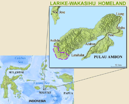 Larike-Wakasihu in Indonesia