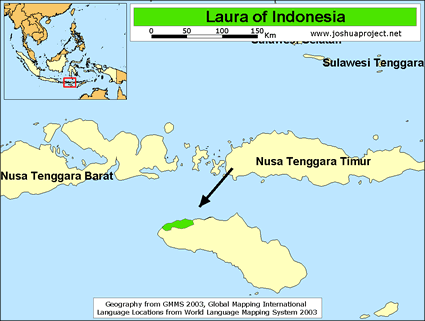 Laura in Indonesia