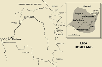 Liko in Congo, Democratic Republic of