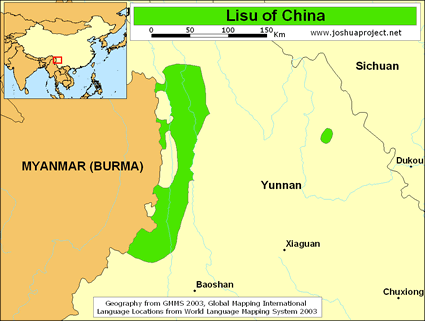 Lisu in China