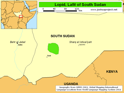 Lopid, Lafit in South Sudan