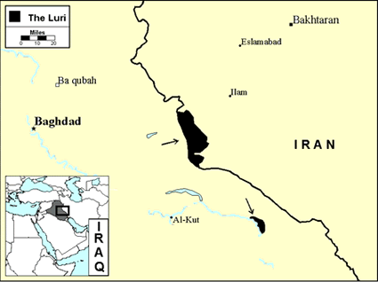 Luri, Northern in Iraq