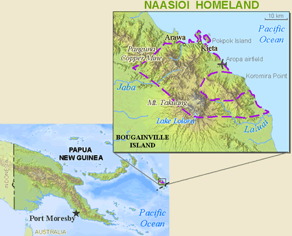 Nasioi, Kieta in Papua New Guinea