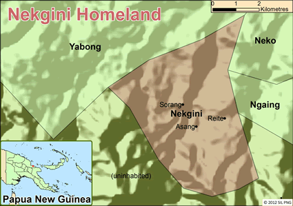 Nekgini in Papua New Guinea
