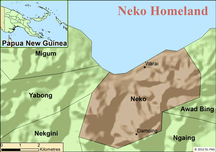 Neko in Papua New Guinea