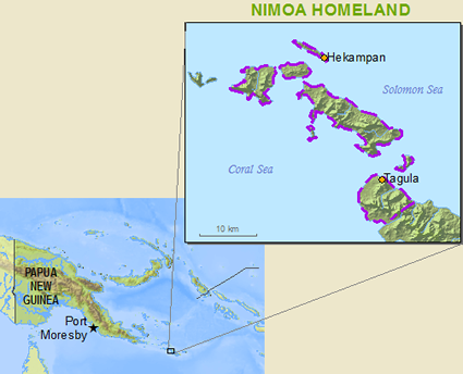Nimowa, Nimoa in Papua New Guinea