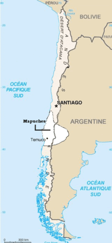 Mapuche, Araucanian in Chile