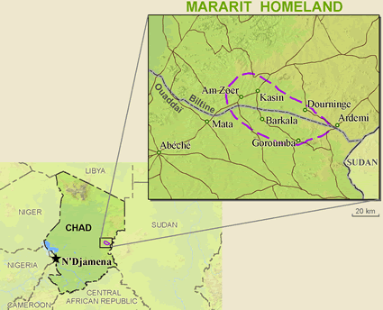 Mararit in Chad