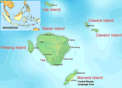 Masela, Central  in Indonesia