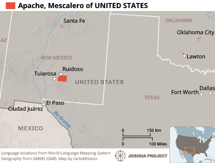 Apache, Mescalero in United States