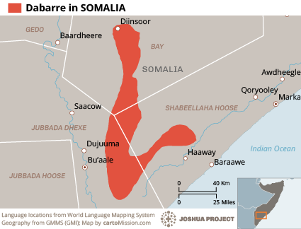 Dabarre in Somalia
