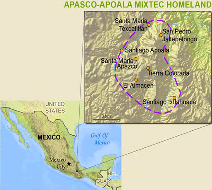 Mixteco, Apasco y Apoala in Mexico