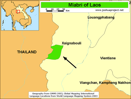 Mlabri in Laos