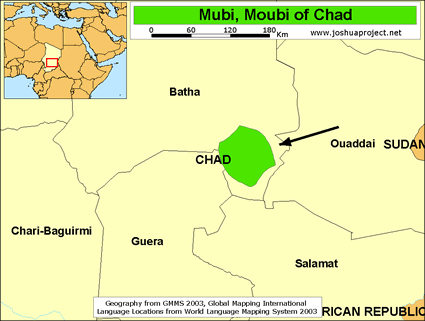 Mubi, Moubi in Chad