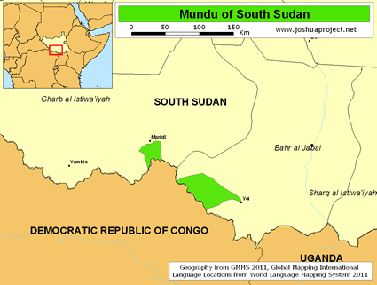 Mundu in South Sudan