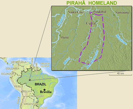 Mura-Piraha in Brazil