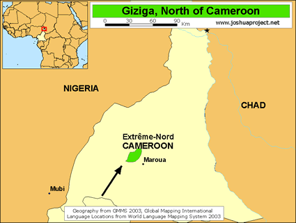 Giziga, North in Cameroon