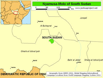 Nyamusa-Molo in South Sudan