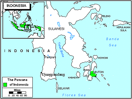 Pancana in Indonesia