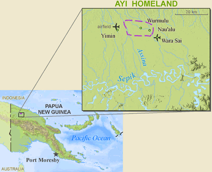 Ayi in Papua New Guinea