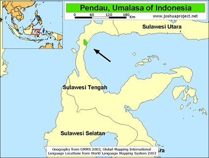 Pendau, Umalasa in Indonesia