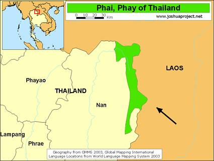 Prai in Thailand