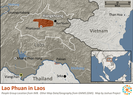 Lao Phuan in Laos