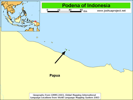 Podena in Indonesia