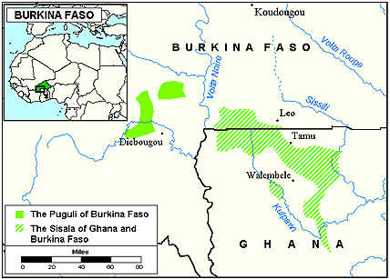 Pwo, Pwe in Burkina Faso