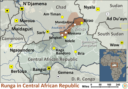 Runga in Central African Republic