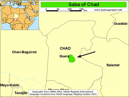 Saba in Chad