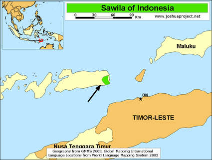 Sawila in Indonesia