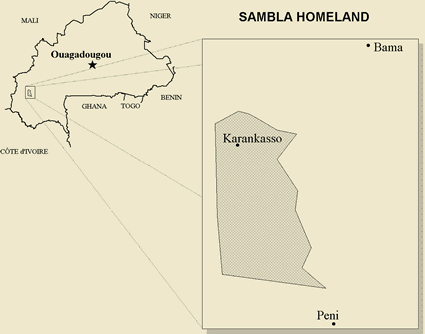 Map of Seemogo in Burkina Faso