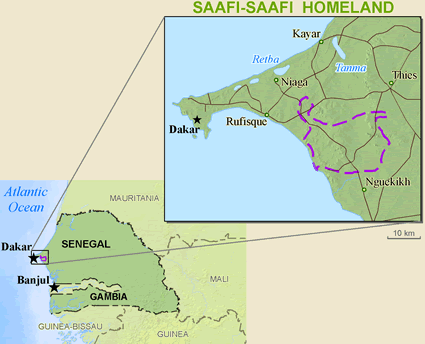 Serer-Safen, Safi in Senegal