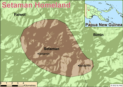 Setaman in Papua New Guinea