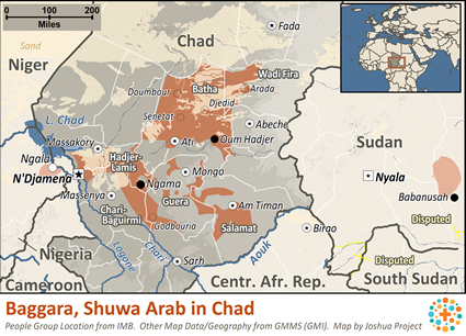 Shuwa Arabs in Chad