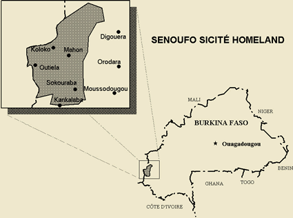 Senoufo, Central in Burkina Faso