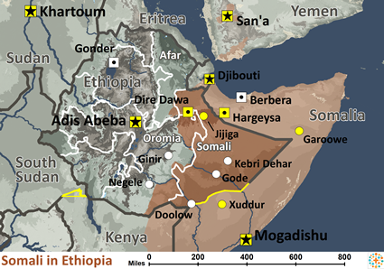 Somali in ethiopia joshua project somali in ethiopia map source bethany world gumiabroncs Image collections