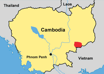 Stieng, Bulo in Cambodia