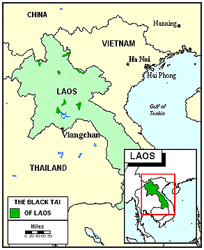 Tai Dam in Laos