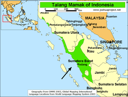 Mamak, Talang in Indonesia
