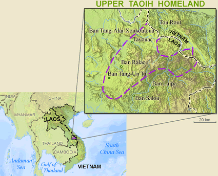 Ta Oi, Upper in Laos