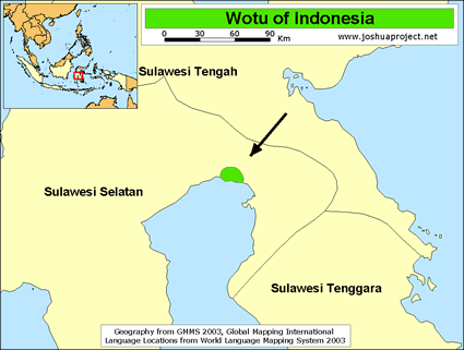 Wotu in Indonesia