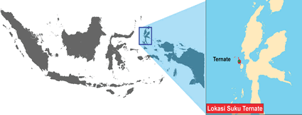 Ternate in Indonesia