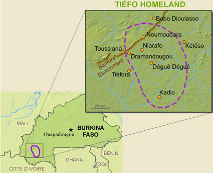 Tiefo in Burkina Faso