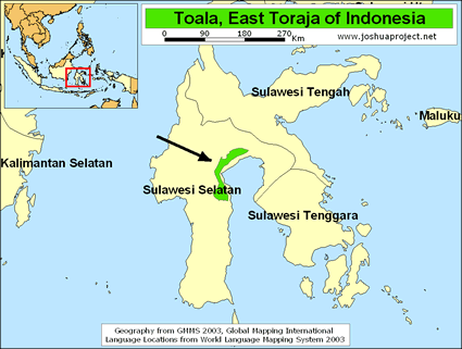 Toala in Indonesia